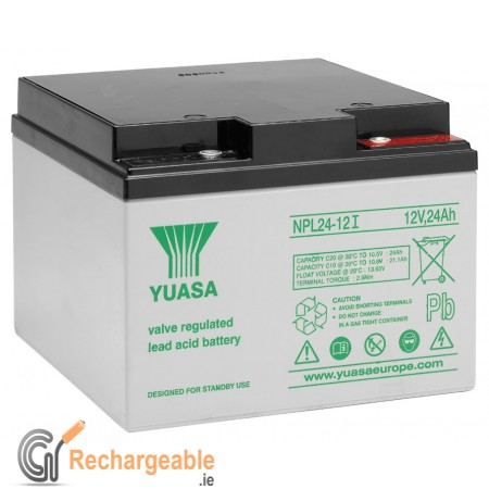 Yuasa NPL24-12I Sealed Lead Battery (M5 Connection)