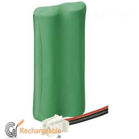 Replacement battery pack for cordless phones 2 x (AAA) - Hirose plug