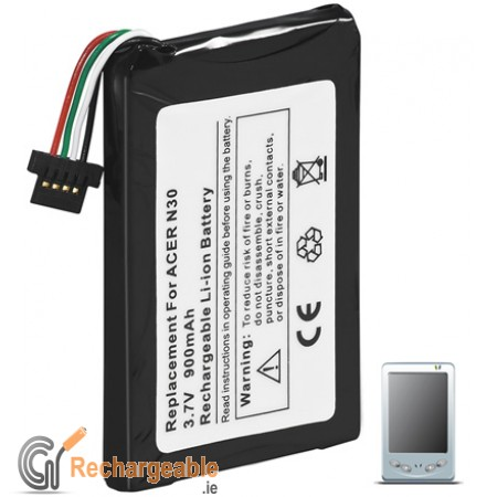 PDA battery for Acer n30