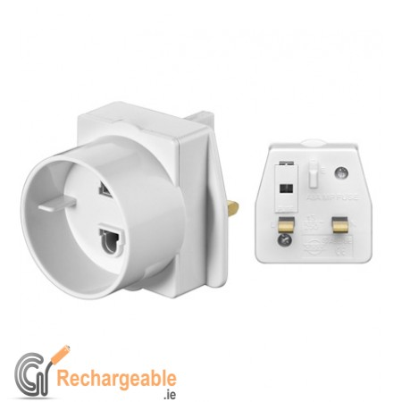 Euro To UK Power Adapte