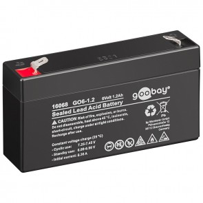 Sealed Lead Acid Battery 6V 1.2Ah