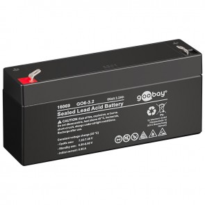 Sealed Lead Acid Battery 6V 3.2Ah