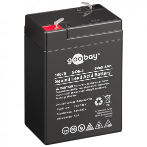 Sealed Lead Acid Battery 6V 4Ah (SLA Battery)
