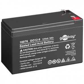 Sealed Lead Acid Battery 12V 9Ah