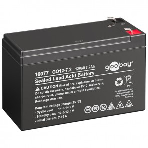 Sealed Lead Acid Battery 12V 7.2Ah