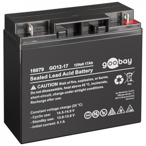 Sealed Lead Acid Battery 12V 17Ah