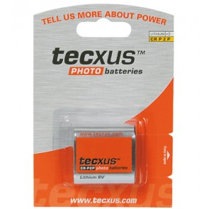 tecxus Lithium CR P2 Photo Battery