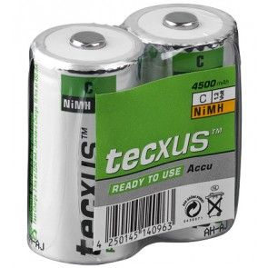tecxus RTU (Baby C) Rechargeable Battery 2 Pack