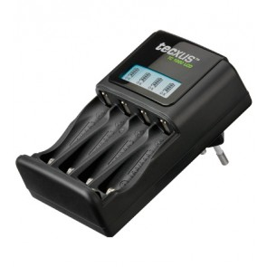 AA/AAA Battery Charger with LCD display