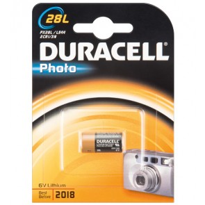 Duracell Lithium Battery (V 28 PXL) 2 CR 1/3 N