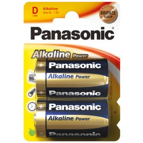 Panasonic Alkaline Power (Bronze Award) 2 x Baby D
