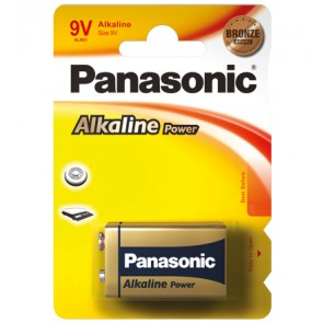 Panasonic Alkaline Power (Bronze Award) 1 x 9V Block