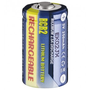 Rechargeable Lithium Photo Battery CR 2 R