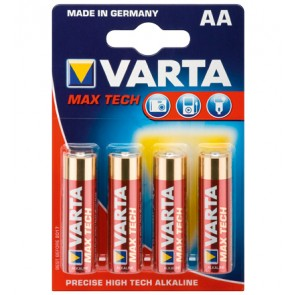 Varta Max Tech AA Alkaline Batteries