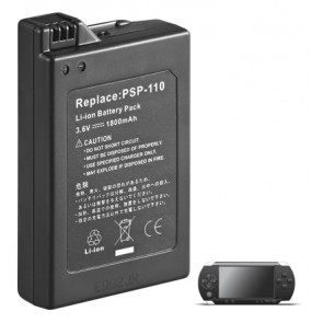 Battery for Playstation Portable PSP 1 (PSP-110) 1st Generation