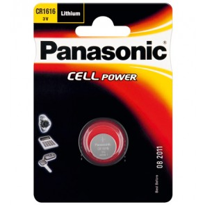 Panasonic Button cell CR 1616 - Single Blister