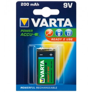 VARTA 9V Rechargable Battery
