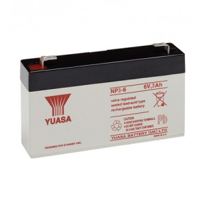 Yuasa NP3-6 Battery (Faston 187 - 4.8mm)