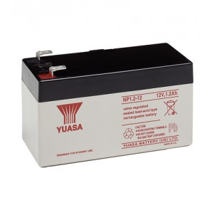 Yuasa NP1.2-12 Battery (Faston 187 - 4.8mm)