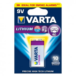 VARTA Battery Lithium 9-Volt Block