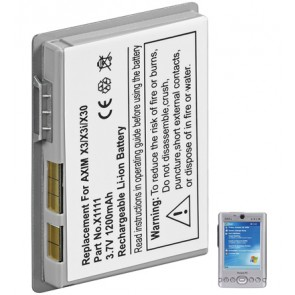 PDA battery for Dell Axim X3/X3i/X30