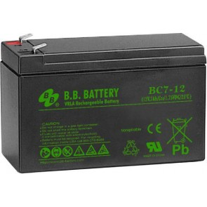 Sealed Lead Acid Battery 12V 7Ah (BC)