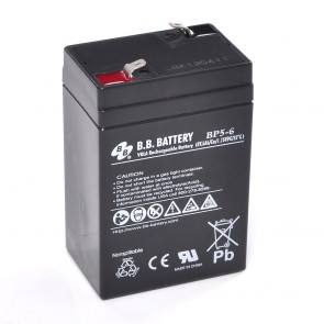 Sealed Lead Acid Battery 6V 5Ah (BP)