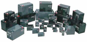 SLA (Sealed Lead Acid) Batteries - 2V/6V/12V